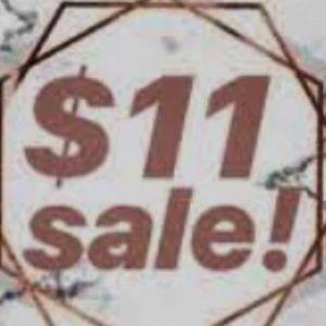 11-hour $11.00 SALE